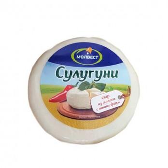 Сыр Молвест сулугуни 45% 300гр.