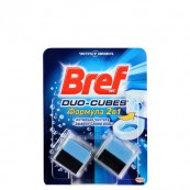 Кубики Bref Duo-Cubes чистящие для сливного бачка 2*50гр.