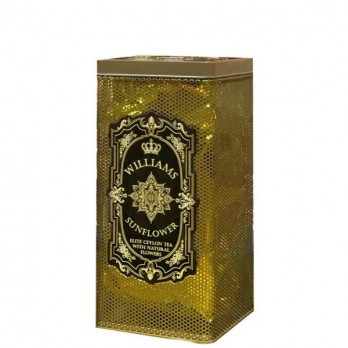 Чай Williams «Sunflower» черный листовой 150гр.