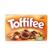 Конфеты Toffifee с лесным орехом, карамелью и шоколадом 125гр.