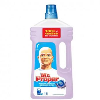 Жидкость моющая для полов и стен Mr. Proper «Лавандовое спокойствие» 1л.