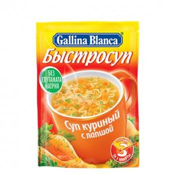 Суп Gallina Blanca куриный с лапшой 17гр.