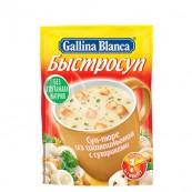 Суп-пюре Gallina Blanca из шампиньонов с сухариками 17гр.