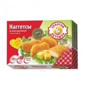 Наггетсы куриные Золотой петушок с сыром 300гр.