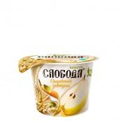 Йогурт Слобода «Семейный завтрак» груша и злаки 210гр.