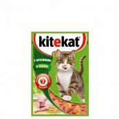Корм для кошек Kitekat с кролик в желе 85 гр.