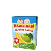 Нектар детский ФрутоНяня Малышам яблоко-банан 0,2л.