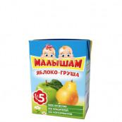Нектар детский ФрутоНяня Малышам яблоко-груша 0,2л.