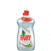 Средство Fairy Platinum для мытья посуды «Лимон и лайм» 430мл.