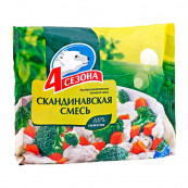 Смесь овощная «4 сезона» Скандинавская 400гр.