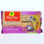 Хлебцы хрустящие из пяти злаков Maxi Vita с расторопшей 150 гр.