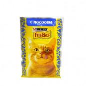 Корм для кошек Friskies с лососем 85 гр.