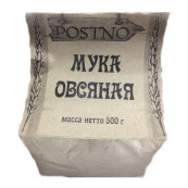 Мука овсяная  POSTNO 500 гр.
