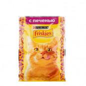 Корм для кошек Friskies с печенью 85 гр.