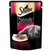 Корм для кошек Sheba говядина и ягненок, 85 гр.