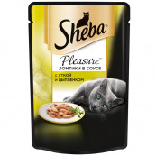 Корм для кошек Sheba утка и цыпленок 85 гр.