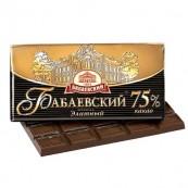 Шоколад горький Бабаевский Элитный 75% какао 100гр.