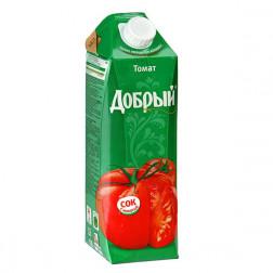 Сок Добрый томатный 1л.