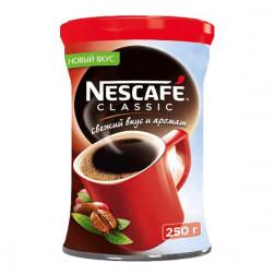 Кофе Nescafe  Classic растворимый гранулированный 250гр.