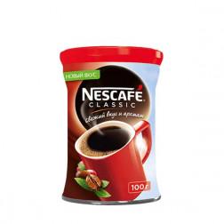 Кофе Nescafe Classic растворимый гранулированный 100гр.