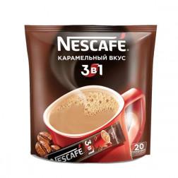Напиток кофейный Nescafe 3в1 Карамель 20 пак.
