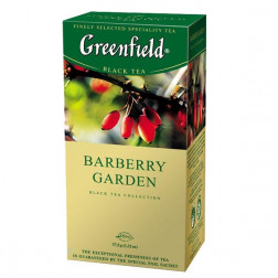 Чай черный Greenfield Barberry garden 25пак