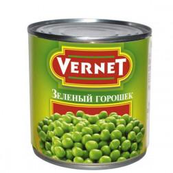 Горошек зеленый «Vernet» 400гр.