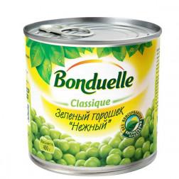 Горошек Bonduelle зеленый «Нежный» 400гр.