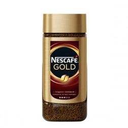 Кофе Nescafe Gold растворимый сублимированный 190гр.