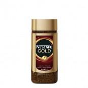 Кофе Nescafe Gold растворимый с добавление молотого кофе 95гр.