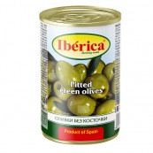 Оливки Iberica mini черные без косточки,300гр