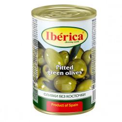 Оливки зелен. Iberica без косточки,420гр