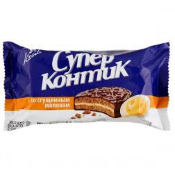 Печенье-сэндвич Konti Супер-Контик со сгущенкой ! 100гр.
