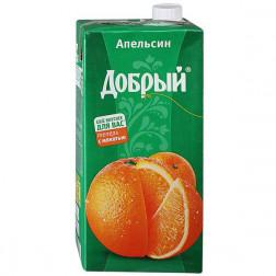 Нектар Добрый апельсиновый 2л.