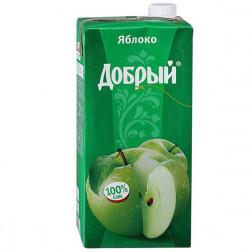 Сок Добрый яблоко 2л.