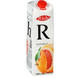 Сок Rich грейпфрутовый 1л.