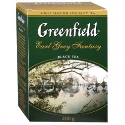 Чай черный Greenfield Earl Grey Fantasy листовой 200гр.