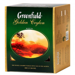Чай черный Greenfield Golden Ceylon 100пак.