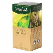 Чай зеленый Greenfield Green Melissa 25пак.