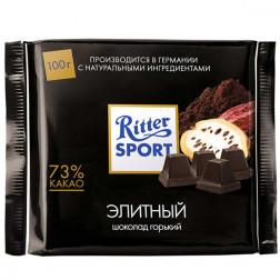 Шоколад Ritter Sport «Элитный» 74% горький 100гр.