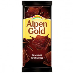 Шоколад Alpen Gold темный 90гр.