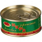 Икра красная  ЛОСОСЕВАЯ зернистая,140 гр.