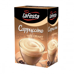 Напиток растворимый LA FESTA Капучино «Сливки» 10пак.