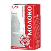 Молоко «Эконом» 3,2%, 1л.