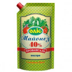 Майонез Олис оригинальный Экстра 40% 680гр.
