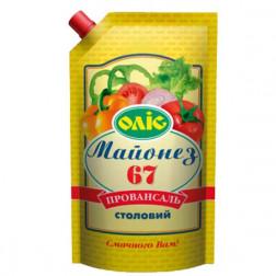 Майонез Олис провансаль 67% 680гр.