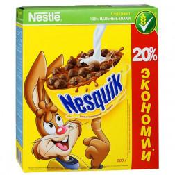 Завтрак Nestle Nesquik шоколадный 500гр.