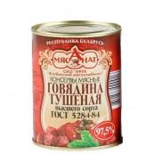 Говядина «Мясанат» тушеная Высший сорт  338гр. Беларусь
