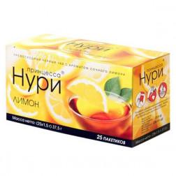 Чай черный Принцесса Нури «Лимон» 25пак.