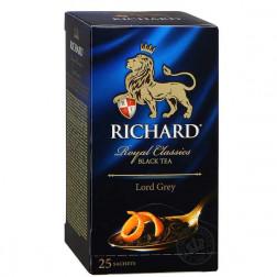 Чай черный Richard  Лорд Грей 25пак.